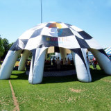 Black and White Inflatable Dome Event Tent for Outdoor Advertising