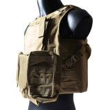 Tactical Steel Wire Vest Molle Combat Strike Plate Carrier Ciras Vest