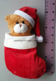 Free Sample Teddy Bear Christmas Gift Doll Plush Soft Toy for Promotional Gift