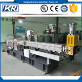 Mini Plastic Pellet Polymer Compounding Parallel Co-Rotating Twin Screw Extruder Price/Mini PVC Free Foam Double-Stage Plastic Water-Ring Pelletizer Granulator
