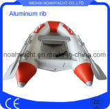 2 People Aluminum Rigid Inflatable Boat Fishing Boat