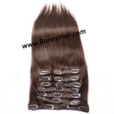 Brazilian Virgin Human Remy Hair Clip on Hair Extension 10pieces/Set Discount Price