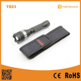 18650 Rechargeable CREE XP-E Police LED Flashlight (POPPAS-T823)