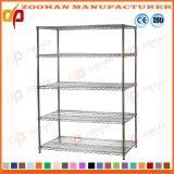 Wire Shelving Unit Garage Storage Racking Wall Shelves Wholesale (Zhw144)