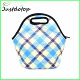 Reusable Insulated Neoprene Lunch Tote Picnic Bag with Adjustable Crossbody Strap