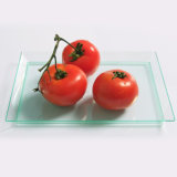 "7""Rectangular Tray Plastic Plate Disposable Tray"