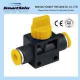 Ningbo Smart High Quality Hvff Plastic Fitting Pneumatic Hand Valve