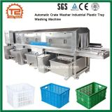 Automatic Crate Washer Industrial Plastic Tray Washing Machine Supplier