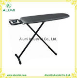 Hotel Black Foldable Ironing Machine with Adjustable Height