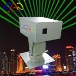 Single Green Outdoor Waterproof Landmark Laser Light