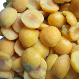 Frozen Apricot Halves with High Quality