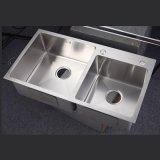 8245 Drop-in Hand Made Sinks Undermount Stainless Steel Kitchen Sink