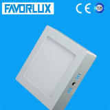 High Lumen 18W LED Ceiling Light, Square Surface Mounted LED Panel Light