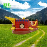 Amusement Park Bouncy Castle Pirate Boat for Kids