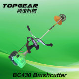 Gasoline Bc430 43cc Brush Cutter with Famouse Brand Topgear