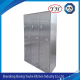 Stainless Steel Metal File Cabinet for Office, Hospital, School, Vertical
