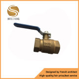 Brass Forged Female Ball Valve with Iron Handle