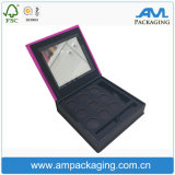 Custom Cardboard Mini Portable Makeup Set Eyeshadow Palette Paper Box Container