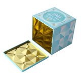 Square Vintage Gift Tin Box for Christmas Promotion