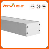Aluminum Extrusion 100-277V Pendant Light Linear LED Lamps