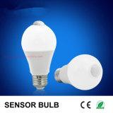 LED Light New Arrival E27 7W PIR Sensor LED Bulb LED Bulb Light