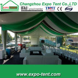 Clear Wedding Tent PVC Transparent Fabric Decorated