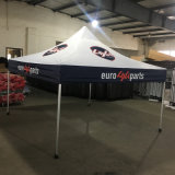 3X3 Folding Portable Garage Canopy for Custom Printing