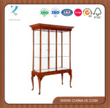 Decorative Wall Display Case with Cabriole Leg
