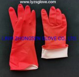Household Gloves Washing Dishes Washing Laundry Kitchen Cleaning Household Sleeve Contact Latex Rubber Acrylonitrile Wear Resistant Durable Waterproof Non-Slip