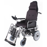 Reclining High Back Automatic Brake Electric Power Wheel Chair