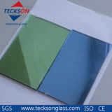 6mm Light Green Reflective Float Glass with Ce&ISO9001
