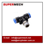 Pb Series T Shape Tee Tube 3-Way Hose Nipple Connector Pneumatic Fittings