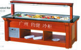 Commercial Marble Island Type Salad Bar (M-P1840FL4)
