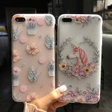 Silicone Soft Hand Feel Frosting Mobile Phone Cover for iPhone Series