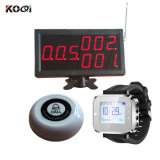Top Popular New Arrival Remote Long Distance Range Wireless Watch Type Paging System