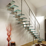 Open Staircase Floating Staircase Glass Deck Stairs