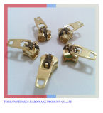 Higher Power Puller Yg Slider Brass Metal Spring Lock Zipper