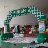 New Angled Design Rental Cheap Inflatable Finish Line Arch