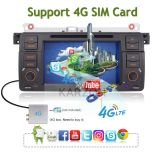 Karzon Car Entertainment for Android 6.0 4 Core BMW E46 with 2GB RAM 32GB ROM Support 4G SIM Card USB WiFi Bluetooth