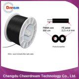 PMMA Plastic 2 Core Optical Fiber Cable for Signal Transmission