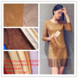 SSS Grade Knitted Suede Fabric for Shoes Garment or Coating