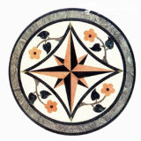 Natural Marble/Granite Stone Waterjet Medallion for Hotel Hall