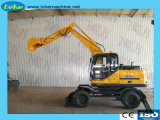 XCMG Official Xe85 Manufacturer 8.5 Ton Cheap Wheel Excavator