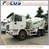 Dealership Price of Cimc Shacman Concrete Mixer Tank Truck for Construction