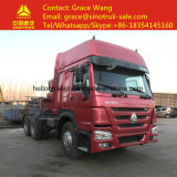 HOWO 371HP 6*4 Used Tractor Truck/Prime Mover/Trailer Head