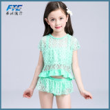 3PCS Lace Bikini Beachwear for Lovely Girl Kids