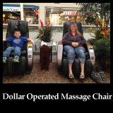 Airport & Shopping Mall Bill Operated Vending Massage Chair