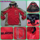 Wholesale Women′s Polyester Custom Adults Jacket Windbreaker for Outdoor (SM-WWBJ01)