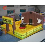 Spanish Bull Fighting New Mechanical Bull Inflatable Bull Riding Machine with Mattress Sports Games Inflatable Rodeo Bull