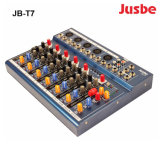Jb-T7 Sound System 7-Channel Cheap and Light Active Subwoofer Audio Mixer